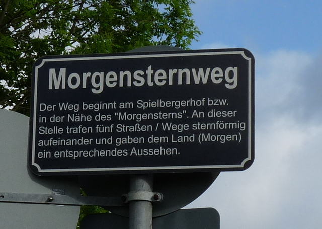 Morgensternweg